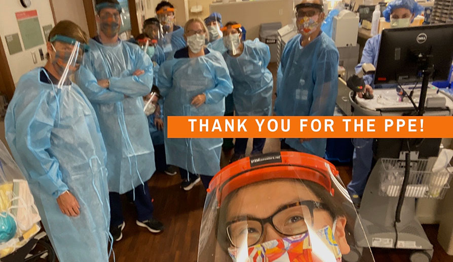 Thank you for the PPE